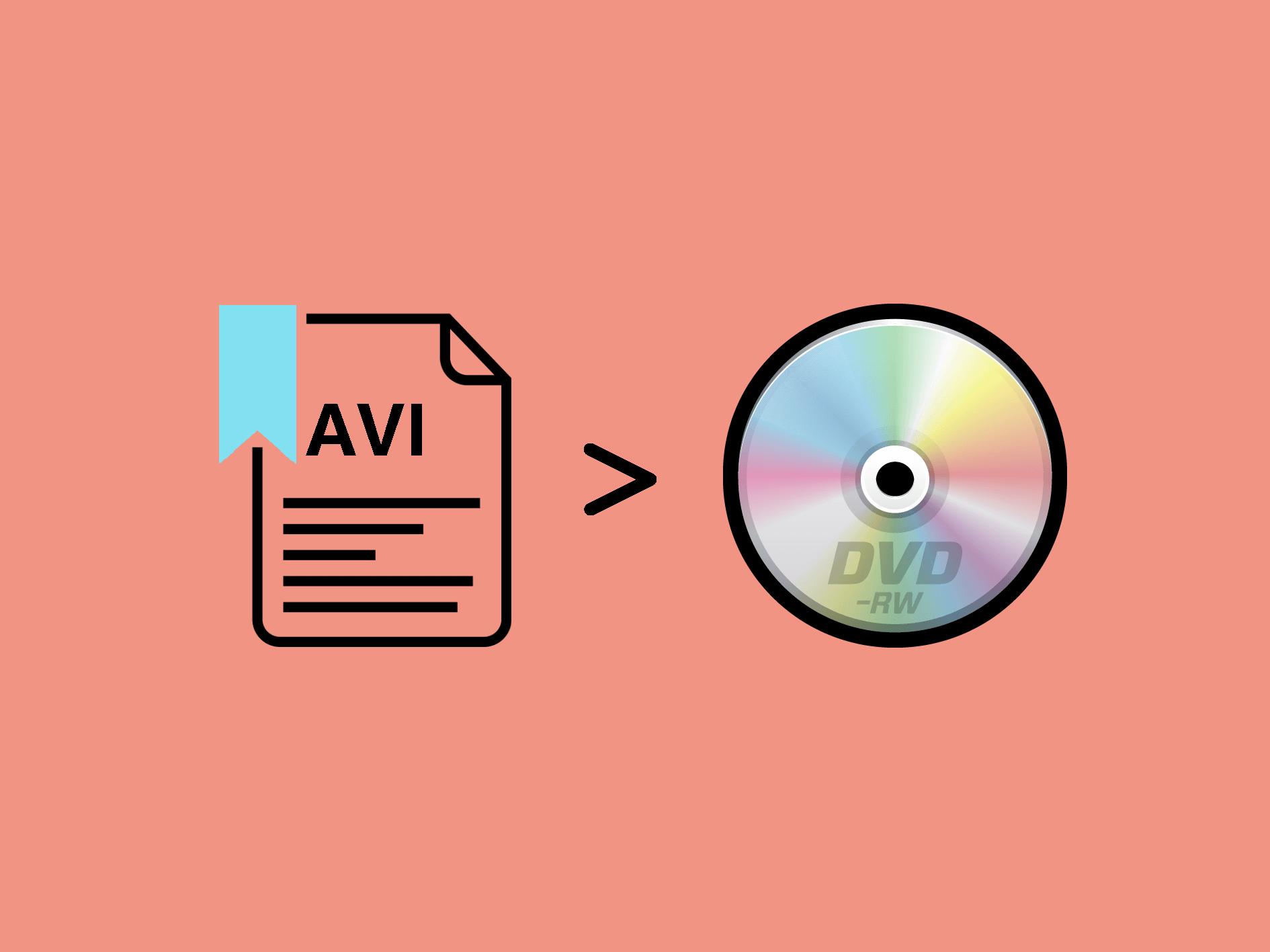 AVI動画をDVDに書き込む方法