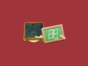 Windows 7上でCDとDVDへの書き込み