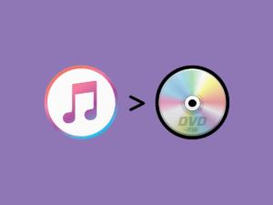 iTunes動画をDVDに書き込む