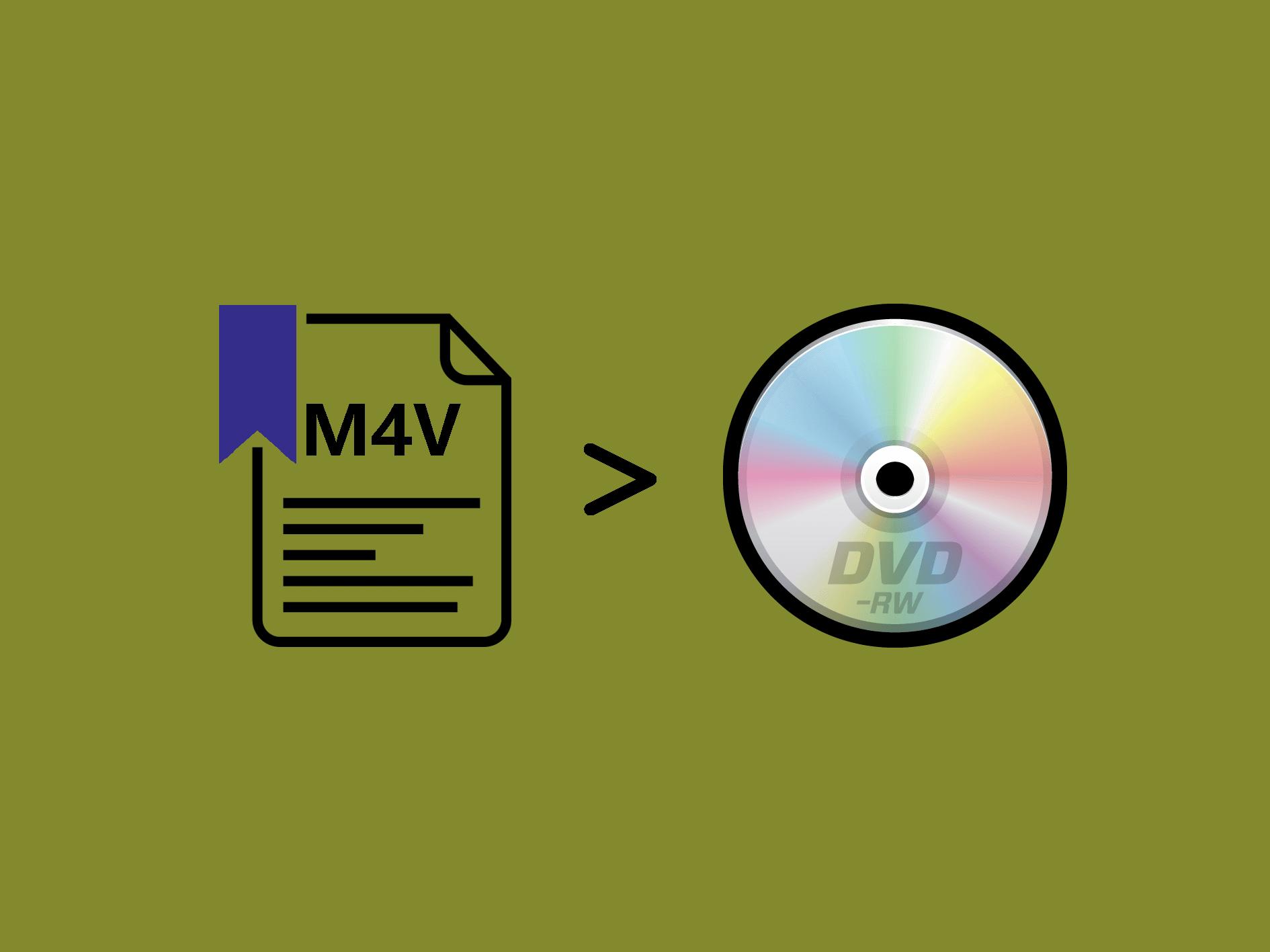 m4vをDVDに書き込む