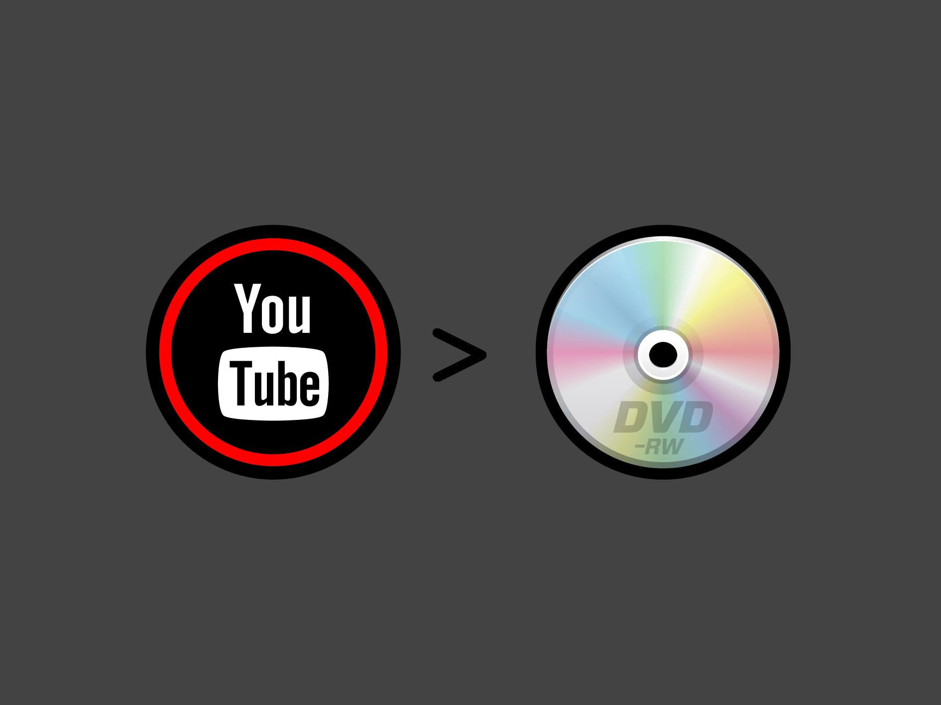 YouTube動画をダウンロードしてDVDに書き込む