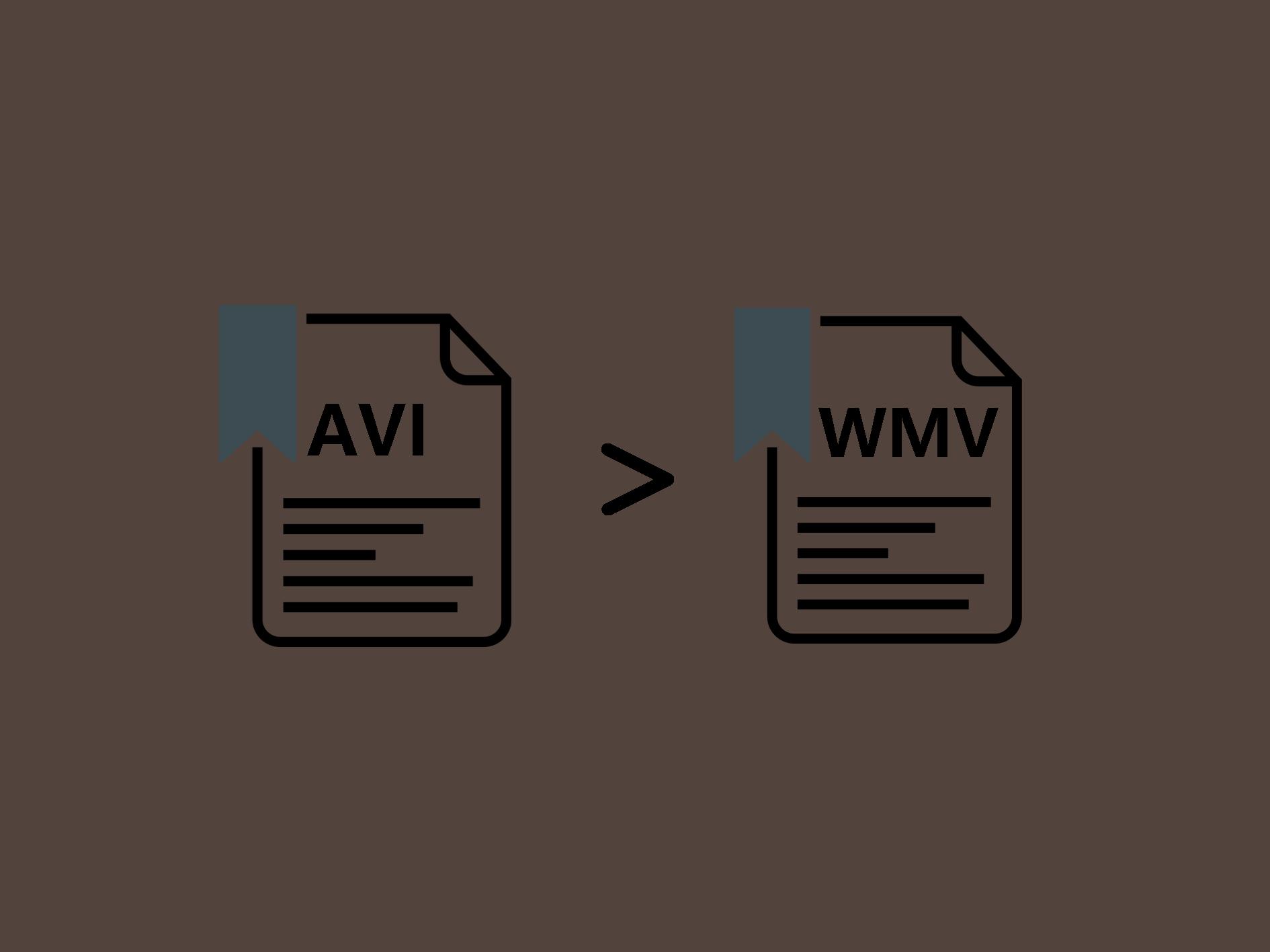 AVI WMV変換