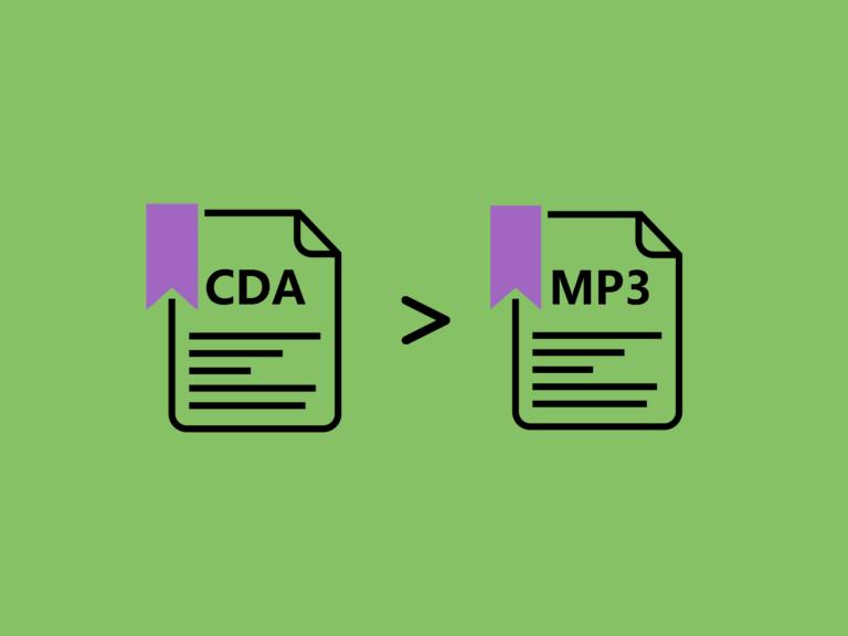 CDAをMP3に変換する