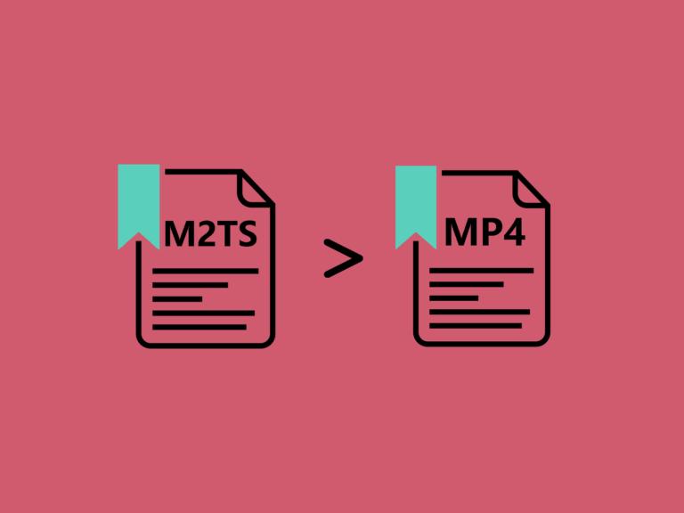M2TSをMP4に変換する