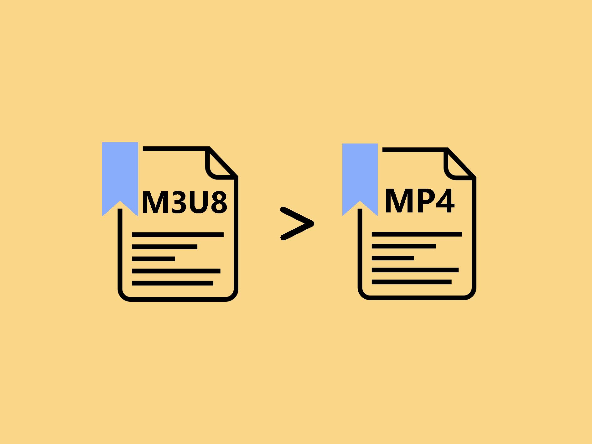 M3U8をMP4に変換する